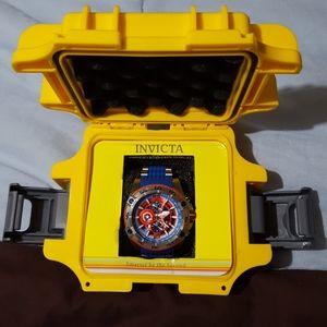 Invicta Marvel Bolt Viper Captian America Watch